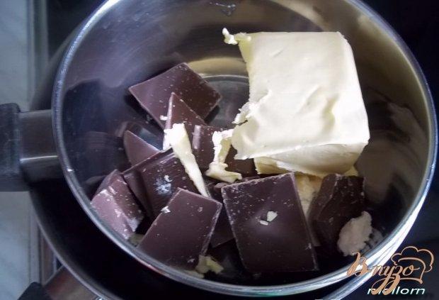 Двойные шоколадные кексы