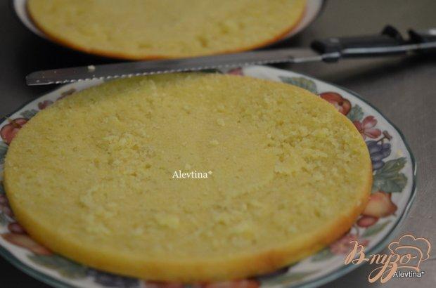 Кекс с лимонным курдом