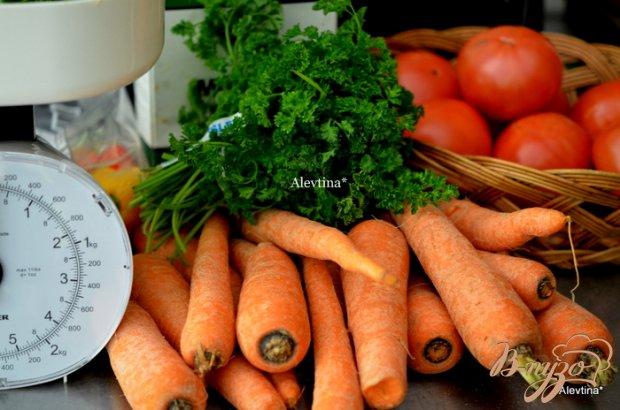 Овощные заготовки для супа