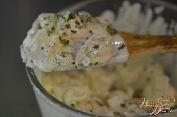 Салат легкий картофельный