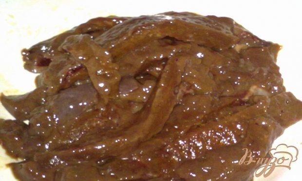 Печень в медовом соусе