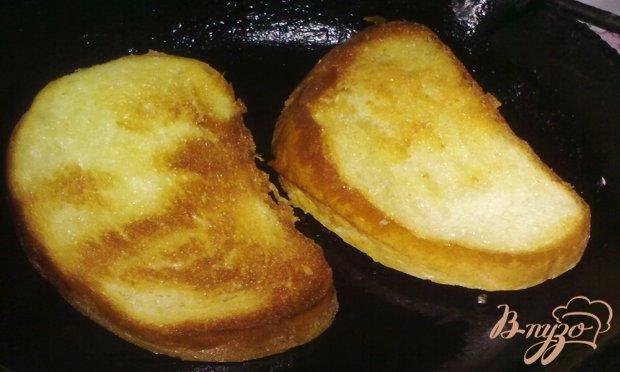 Брускетта с сыром