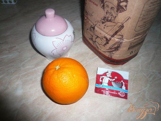 Дрожжевые блинчики с апельсином