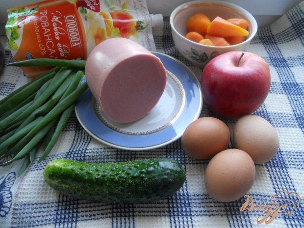 Весенний слоеный салатик