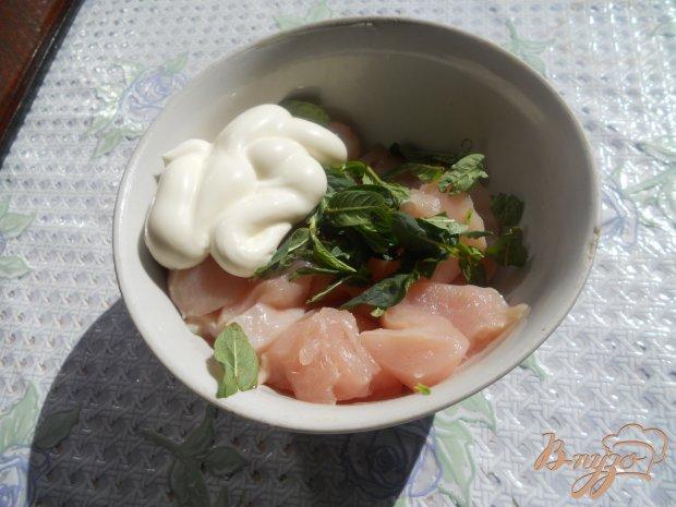 Куриная грудка запеченная с помидорами и сыром