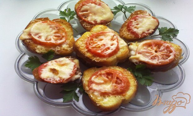 Тартинки с сыром
