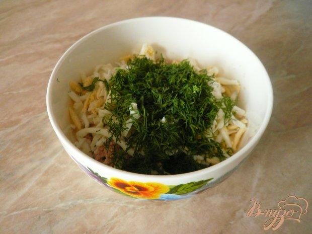 Салат с икрой трески