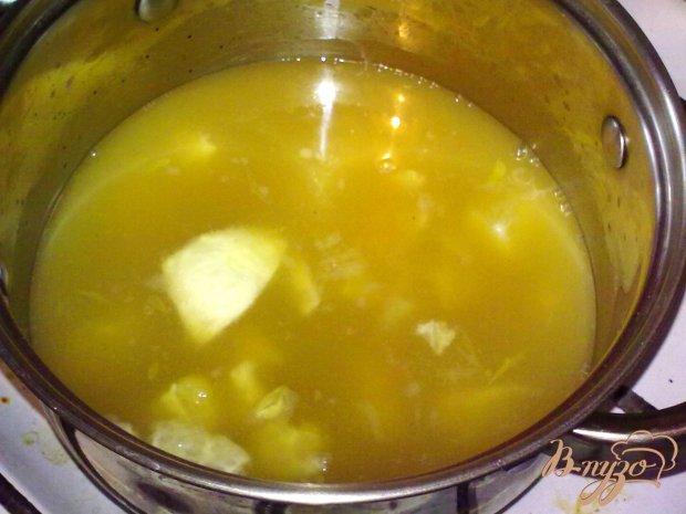 Суп из цитрусовых
