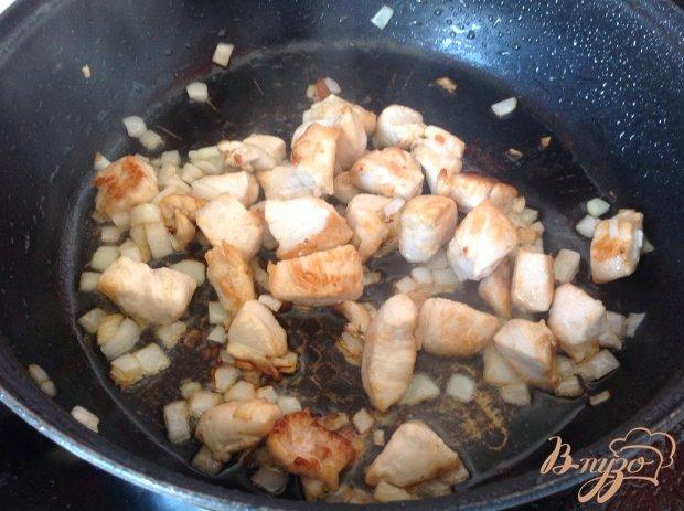 Тушенная картошка с курицей