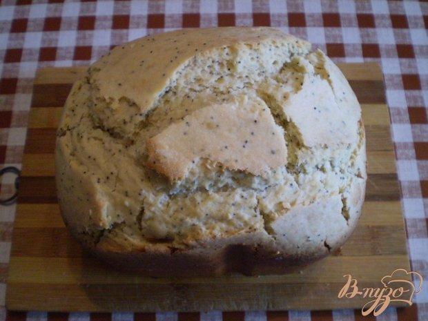 Сладкий маковый хлеб к чаю