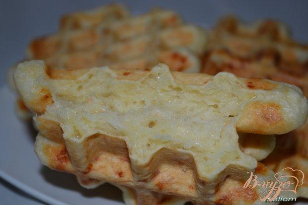 Вафли сметанные с сыром