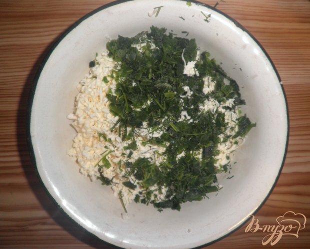 Сырная намазка с зеленью