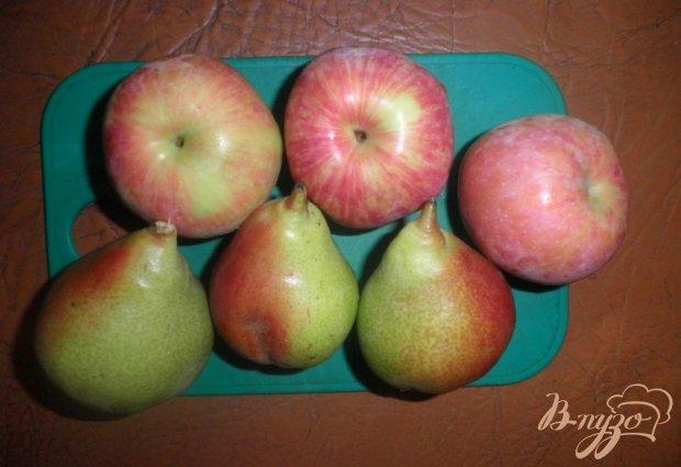 Грушево-яблочная шарлотка