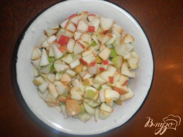 Пирог с яблоками Сердце