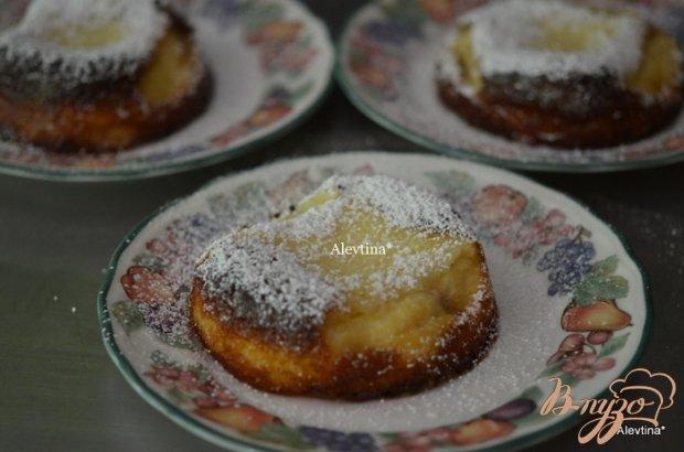 Десерт с рикоттой и свежей ягодой