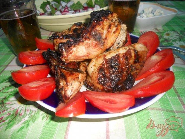 Курица маринованная в томатном соусе