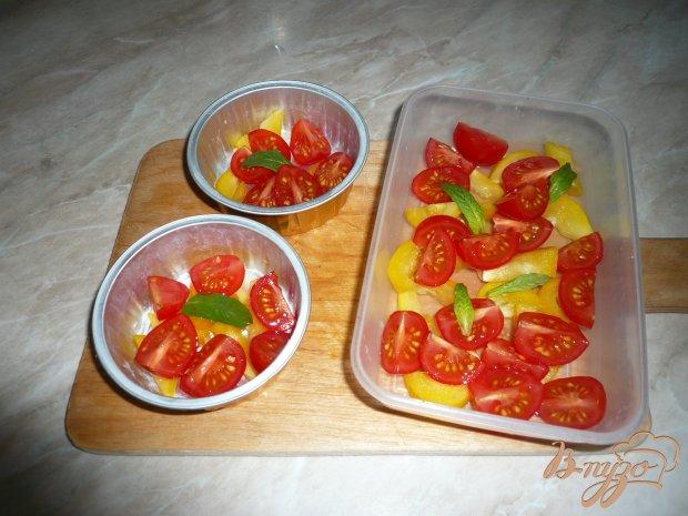 Заливное со свежими овощами
