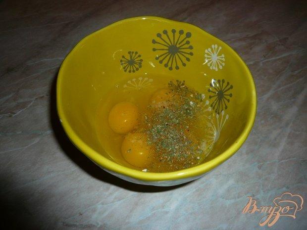 Куриная грудка в заливке из яиц