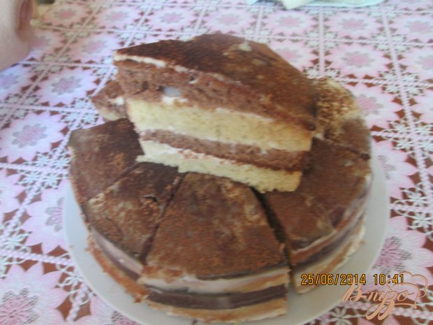 Быстрый торт на кефире