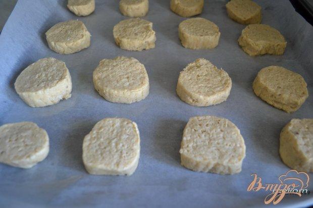 Банановое песочное печенье