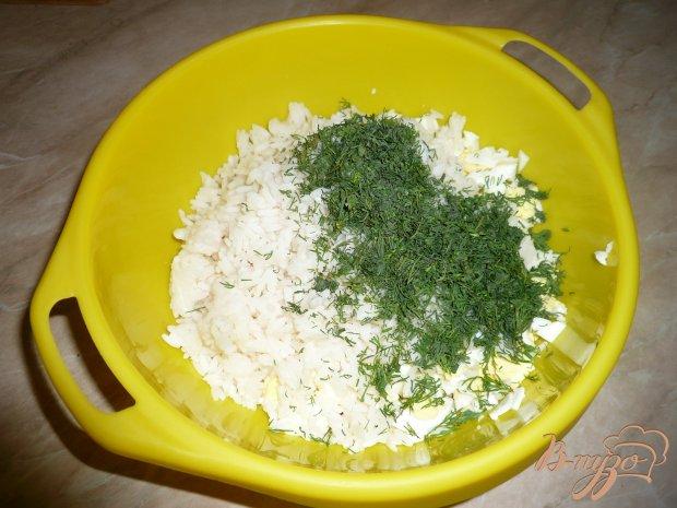 Салат домашний с крабовым мясом