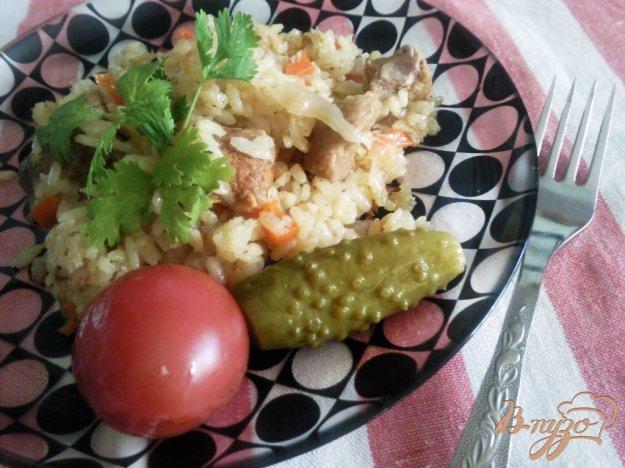 Рецепт Плов с капустой и свининой