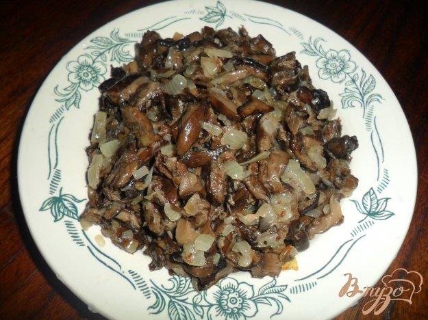 Рецепт Жареные грибы с луком