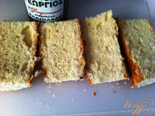 Фото приготовление рецепта: Брускетта с помидорами шаг №6