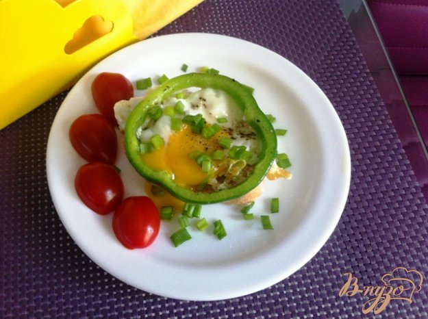фото рецепта: Глазунья на завтрак