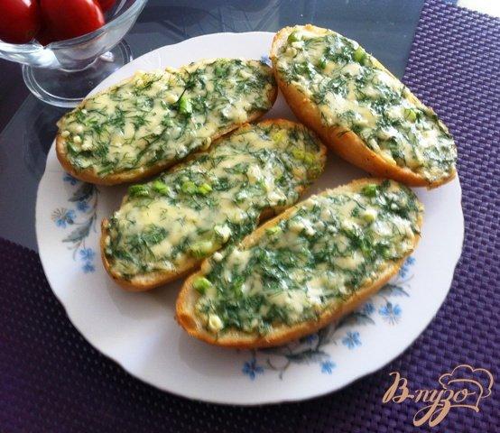 Рецепт Горячий бутерброд в духовке