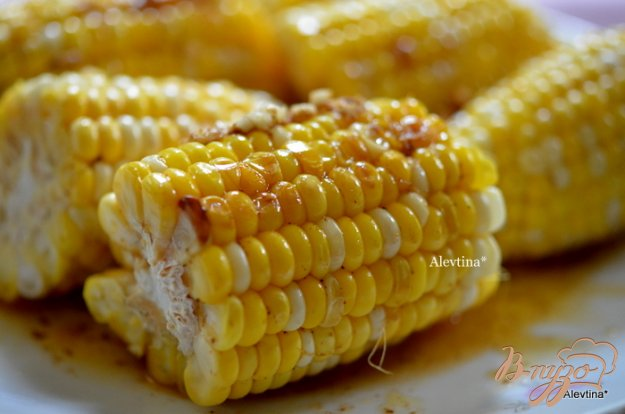 Рецепт Кукуруза с ароматным маслом