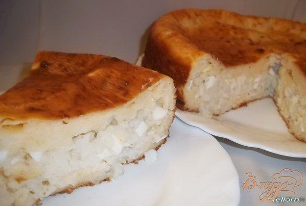 Рецепт Пирог наливной с рисом и яйцом