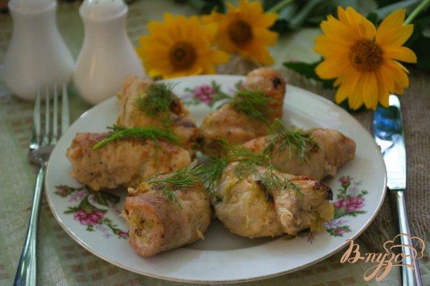 Рецепт Мясные голубцы с капустой