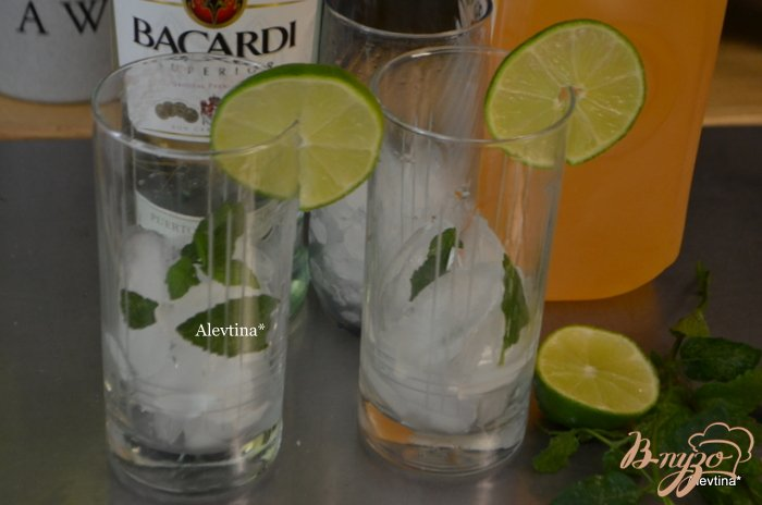 Фото приготовление рецепта: Чай Мохито со льдом шаг №1