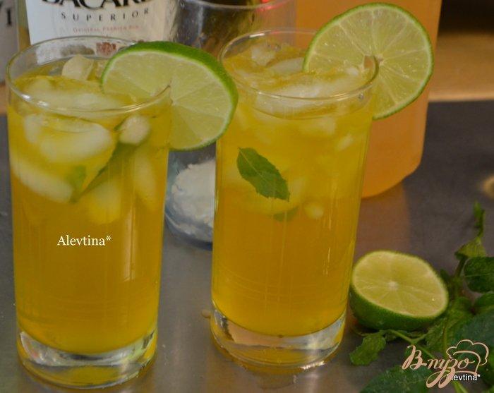 Фото приготовление рецепта: Чай Мохито со льдом шаг №2