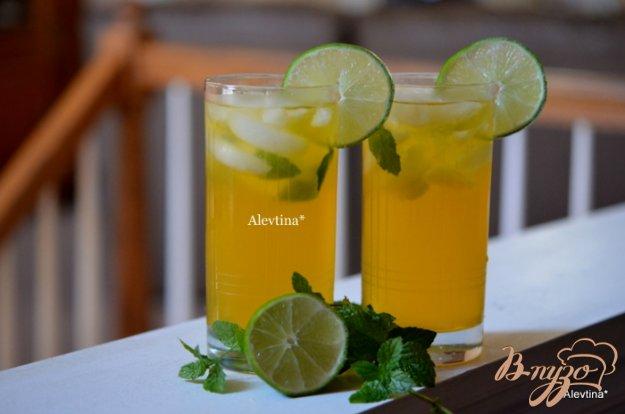 фото рецепта: Чай Мохито со льдом
