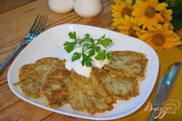 Рецепт Маковые драники из картофеля