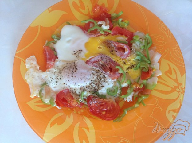 Рецепт Летняя яичница