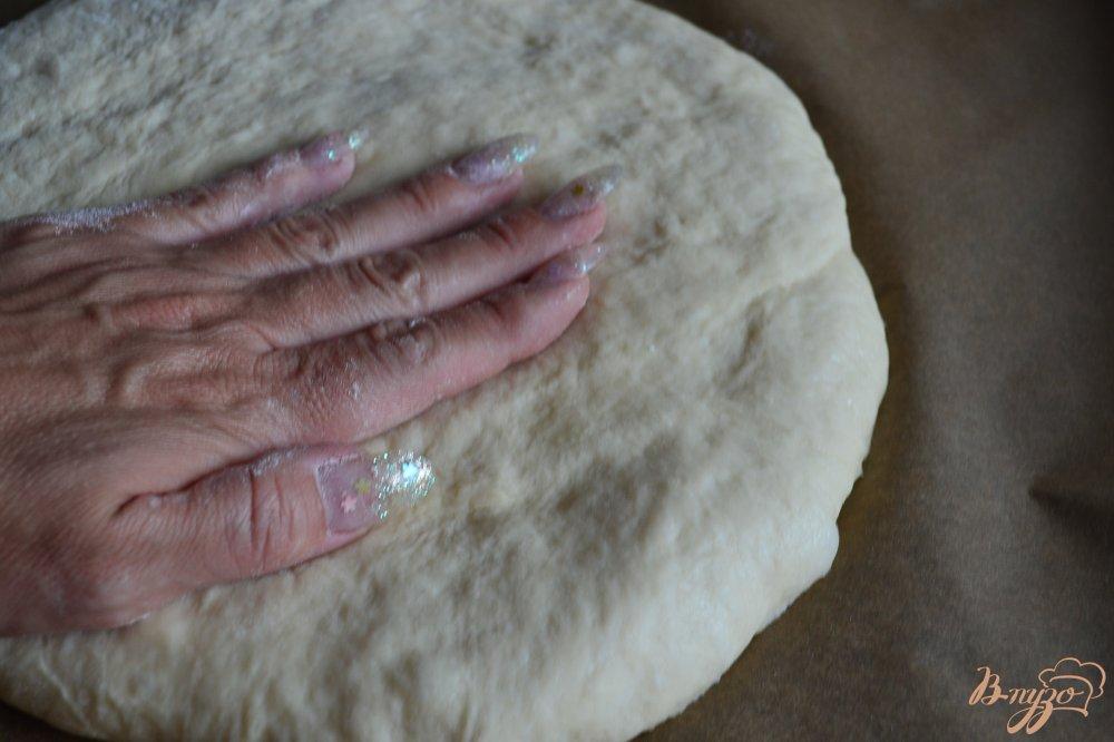 Фото приготовление рецепта: Медовый пирог с прослойкой из маскарпоне шаг №5