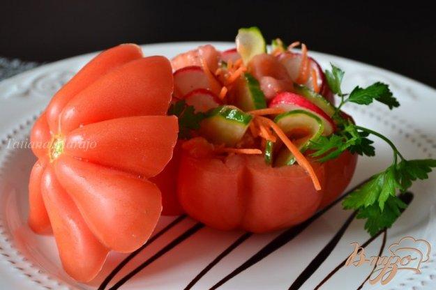 """Рецепт Овощной салат """"Синьор Помидор"""""""