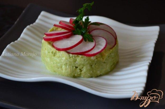 Рецепт Закуска из авокадо с моцареллой