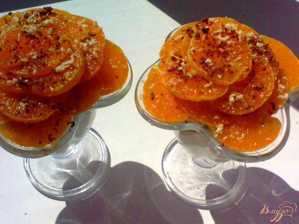 Фото приготовление рецепта: Десерт творожный