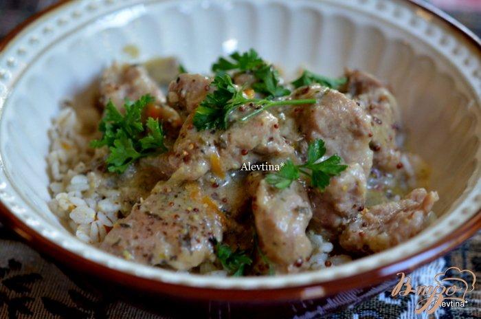 Фото приготовление рецепта: Свинина с кленовым сиропом шаг №3
