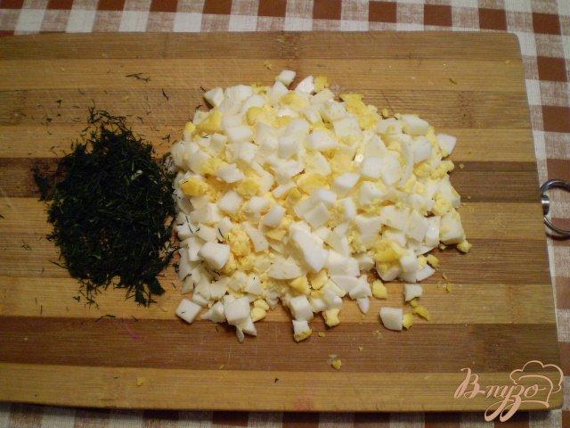 Фото приготовление рецепта: Простая окрошка шаг №5