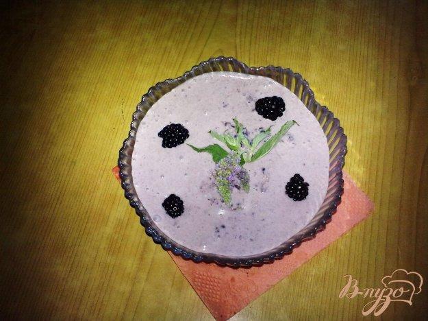 Рецепт Ежевичный крем