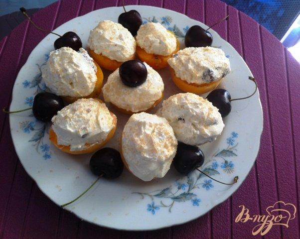 Рецепт Десерт творожно-абрикосовый