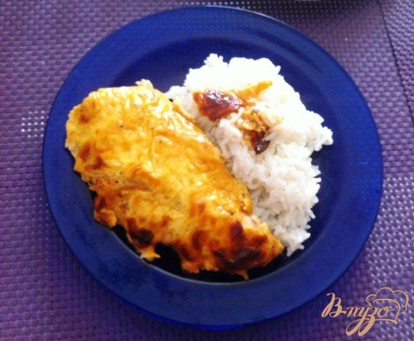 Рецепт Куриное филе в сырном соусе