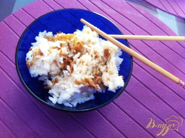 Рецепт Рис с чесноком по японски