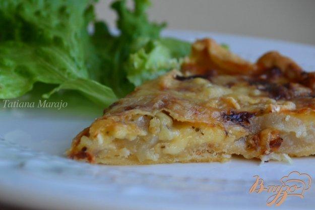 Рецепт Киш с грушами и сыром