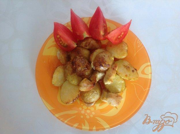 Рецепт Запеченая курица с картофелем